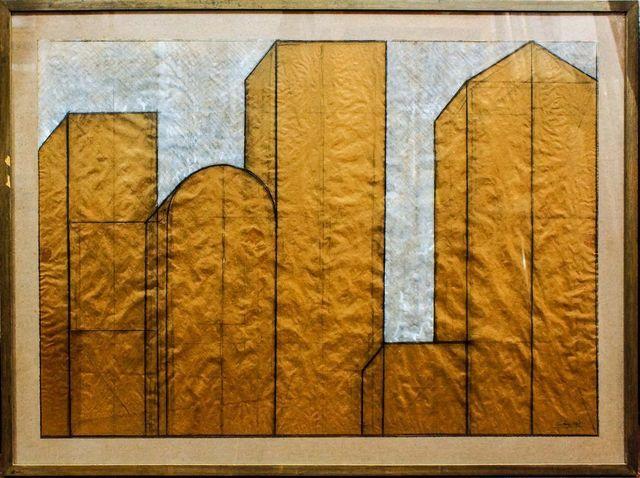 Giuseppe Uncini, 'Dimore', 1979, Wallector