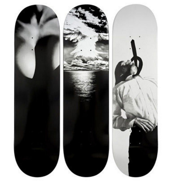 Robert Longo, 'Set of Three Supreme Skateboards', 2011, MSP Modern
