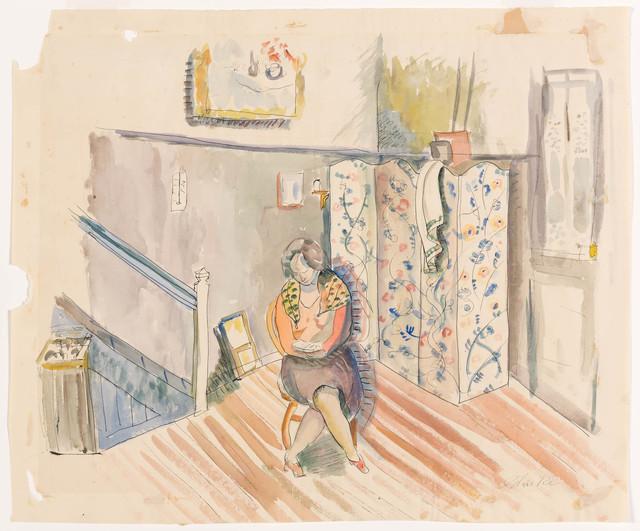 Louis Schanker, 'Seated Woman', circa 1930, Doyle