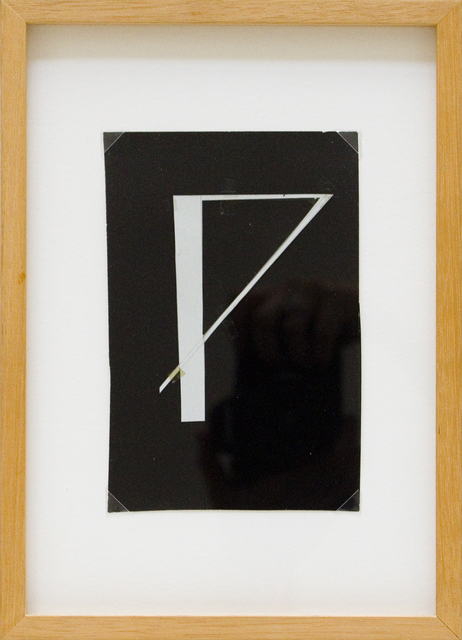 , 'Glagolitic Letter N,' ca. 1970, Aanant & Zoo