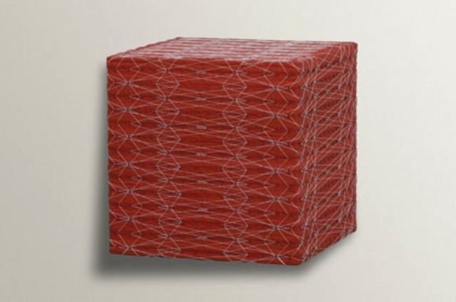 , 'Red Cube, Diamond Pattern,' 2006, Bentley Gallery