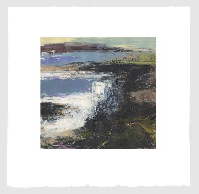 Donald Teskey, 'Fractured Shoreline VIII', 2013, Print, Carborundum & intalgio, Stoney Road Press