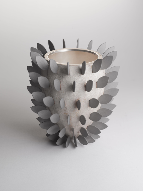 , 'Silver Bullet Vase with Leaves,' , Maison Gerard