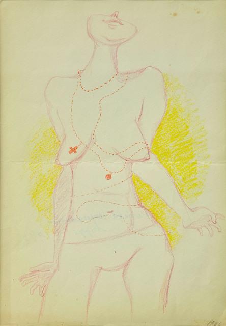 , 'Temperamental Woman (Kobieta temperamentna) ,' 1966, Dawid Radziszewski
