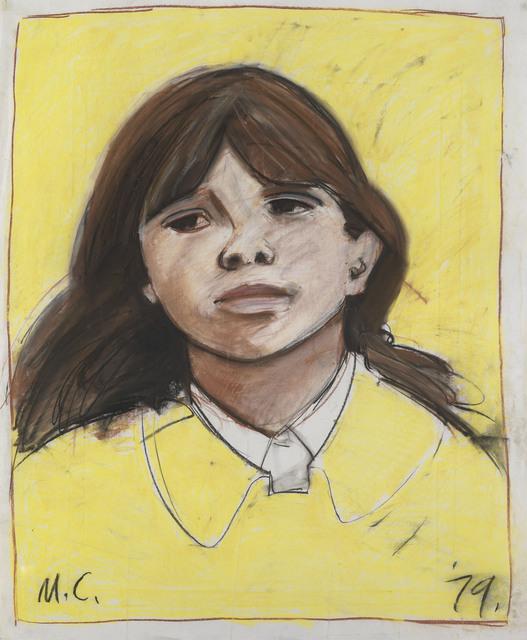 , 'Study for Lime Street girl,' 1979, Waterhouse & Dodd