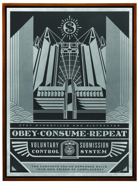 Shepard Fairey (OBEY), 'Church of Consumption', ca. 2017, Underdogs Gallery