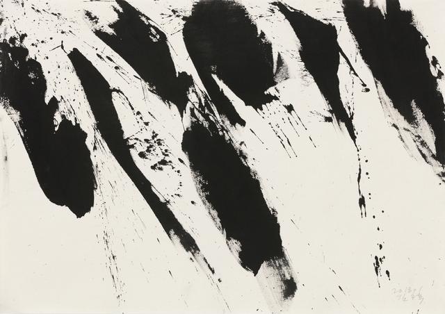 , 'Flow,' 2018, Hakgojae Gallery
