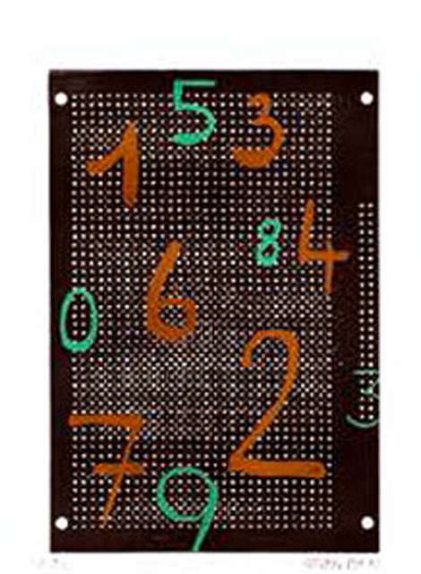 , 'Circuit chiffré 42,' 1995, Galerie Charlot
