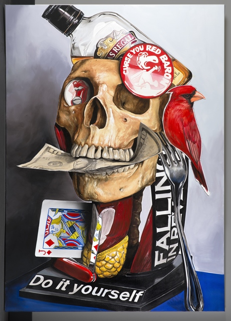 , 'Cardinal God Complex,' 2015, Galleria Ca' d'Oro