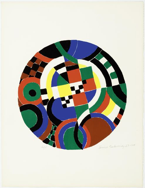 Sonia Delaunay, 'Untitled', 1937-1970, Print, Colour lithograph, Koller Auctions
