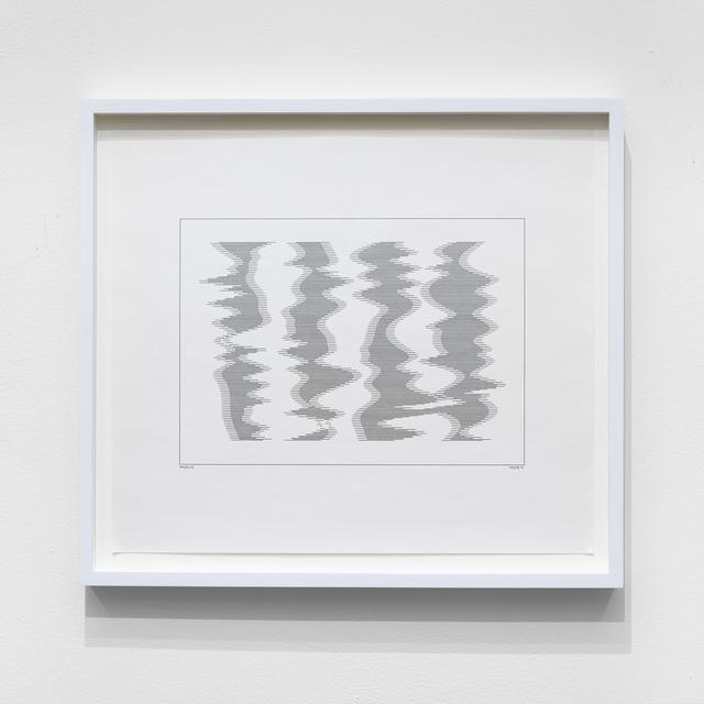 , 'P-073-D,' 1971, bitforms gallery