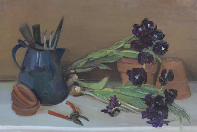 , 'Harvesting Bulbs,' 2017, Grenning Gallery