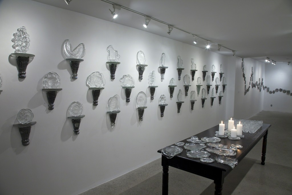 Installation View: Sconces; Platters; Tumblers; Medallions