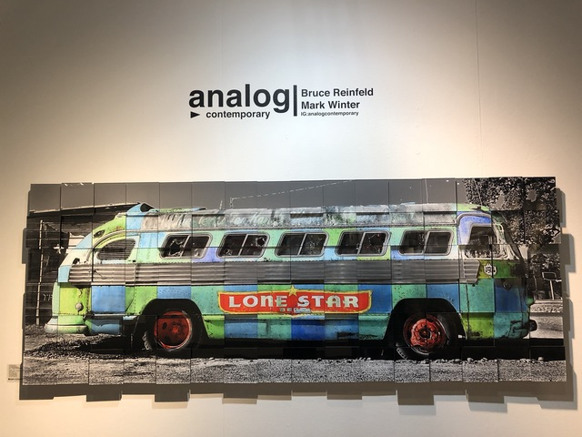 , 'Lone Star Bus - 3-D,' 2018, Analog Contemporary