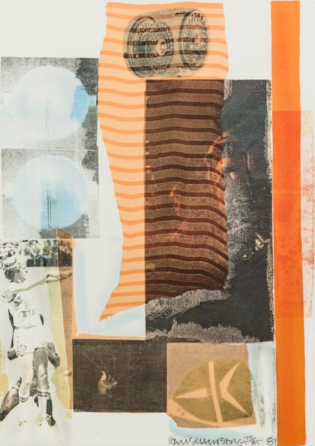 Robert Rauschenberg, 'Arcanum II', 1981, Print, Screenprint and collage, Hindman
