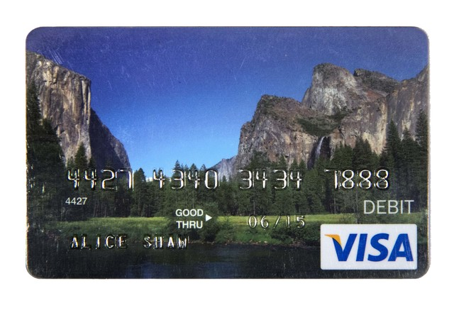 , 'Unemployment Debit Card For Out of Work Artist From The Ansel Adams School of Photography,' 2014, Gallery 16