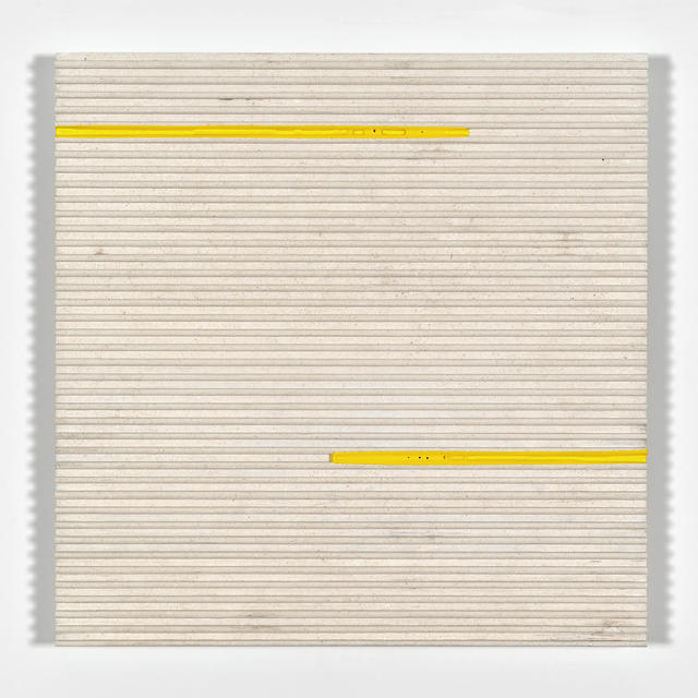 Joseph La Piana, 'Corrugated Travertine Relief Painting 6,8', 2016, The Watermill Center Benefit Auction