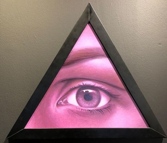 Oliver Hazard Benson, 'The Eye of Providence', 2018, Gallery Victor Armendariz