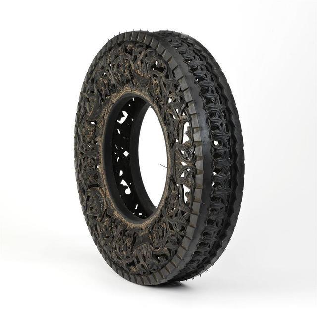 , 'Untitled (Car Tyre),' 2016, Bernier/Eliades