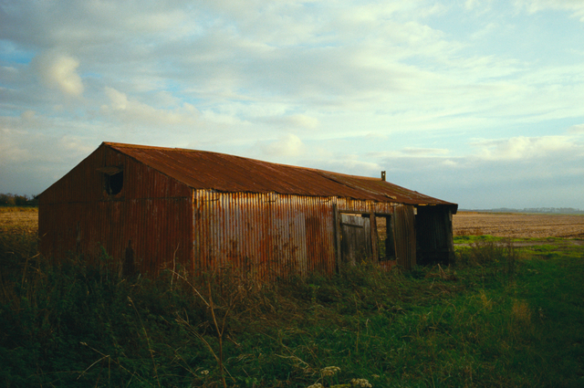 , 'Red Farm Shed, Norfolk,' 2006, Osborne Samuel