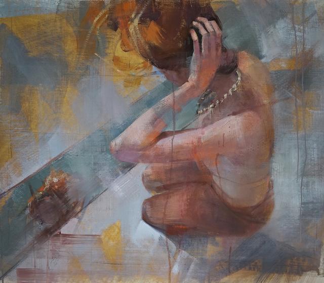 , 'Julia - On her knees,' , Saatchi Art