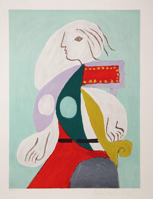 Pablo Picasso, 'FEMME A LA ROBE MULTICOLORE', 1979-1982, Gallery Art
