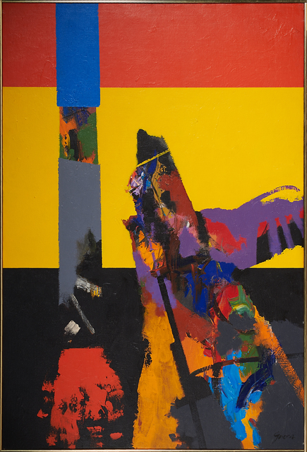 Sidney Gross, 'Untitled (UFO)', 1966, Painting, Oil on canvas, Rago/Wright