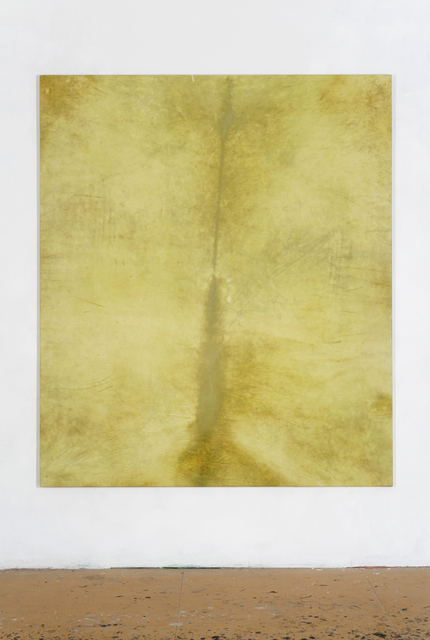, 'yellow painting large,' 2014, Circle Culture Gallery