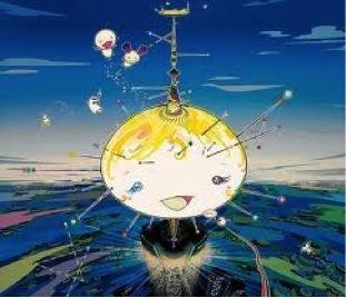 Takashi Murakami, 'Manu Came from the Sky', 2003, Print, Lithograph, Soho Contemporary Art