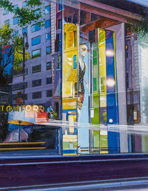 Tom Blackwell, 'Tom Ford Corner', 2018, Painting, Oil on fibreboard, Van Ham