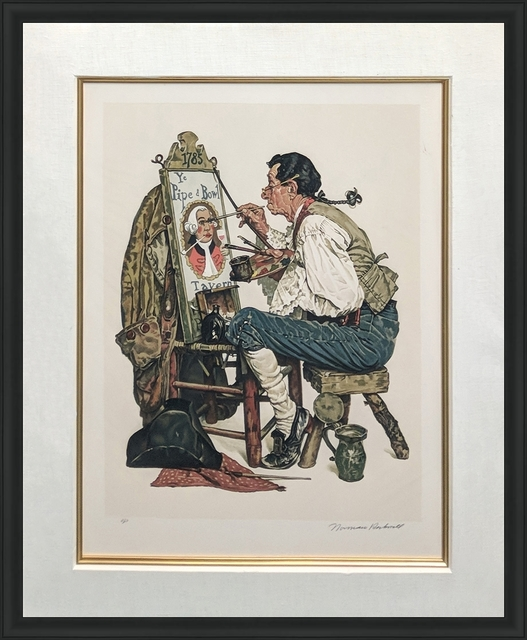 Norman Rockwell, 'YE PIPE AND BOWL', 1976, Gallery Art