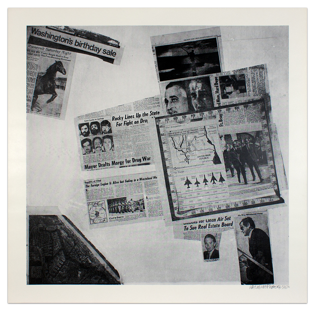 Robert Rauschenberg, 'Features from Currents #57', 1970, Krakow Witkin Gallery