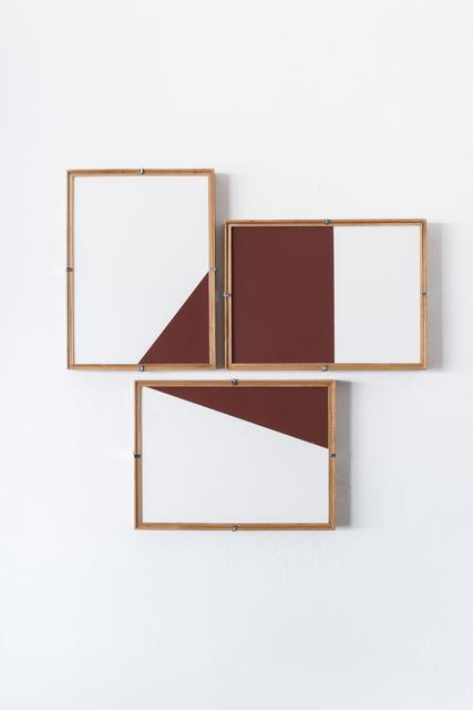 , 'Red Composition No.16,' 2017, Casa Triângulo