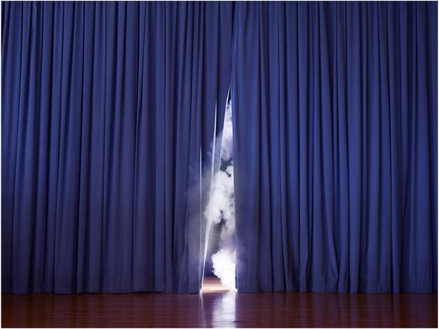 , 'Smoke Screen,' 2013, di Rosa