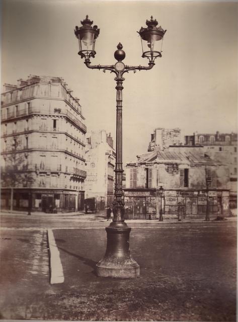 , 'Lamppost, Champs de Mars, Paris,' ca. 1867, Robert Hershkowitz