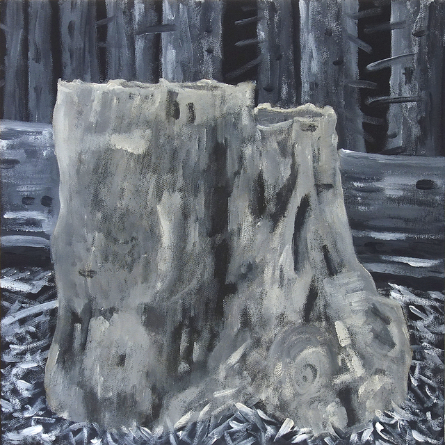 , 'Grisaille Stump VIII MVE008,' 2019, George Lawson Gallery
