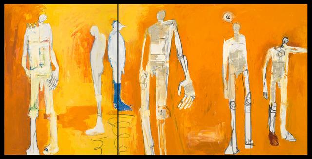 Deborah Hake Brinckerhoff, 'The Space Between (diptych)', 2019, Phillips Gallery