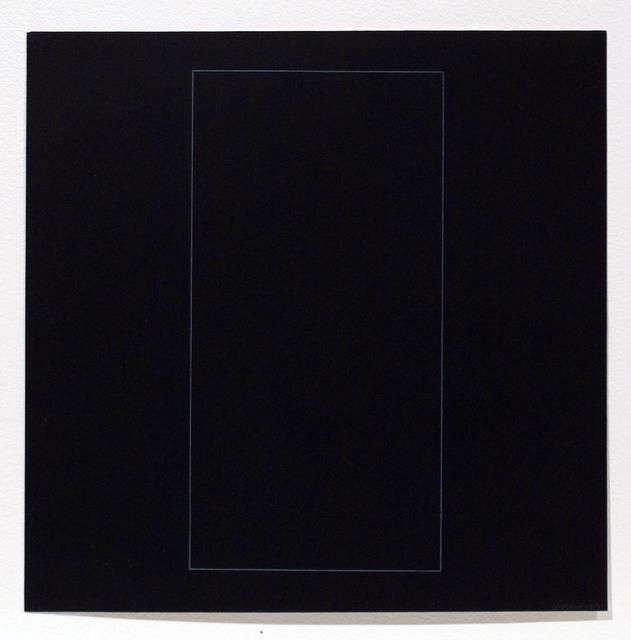 , 'Six Geometric Figures - Rectangle,' 1977, Bernard Jacobson Gallery