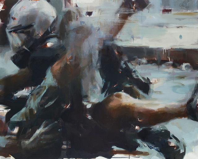 , 'The Arrest,' 2016, Lazinc