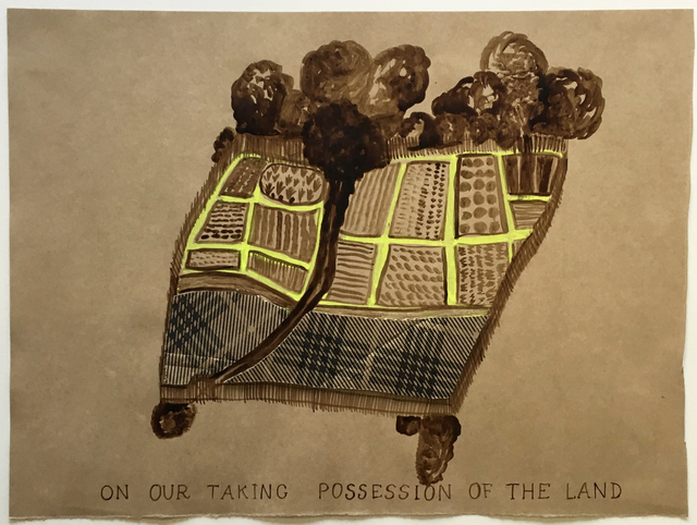 Joan Ross, 'On our taking possession of the land', 2019, Bett Gallery