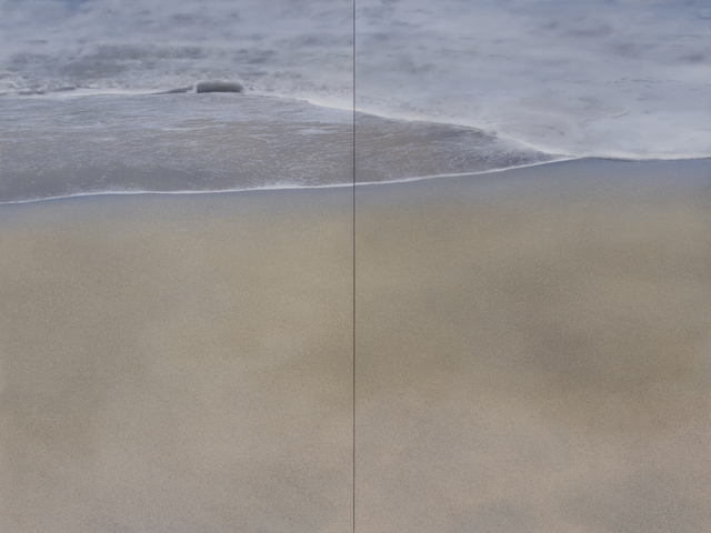 , 'Virgin Sands (Diptych),' 2018, Gallery Henoch