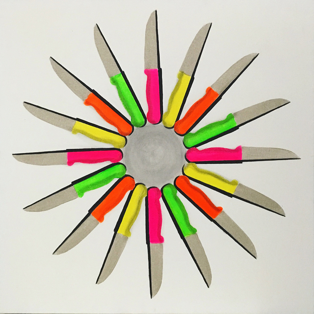 , 'Love Knives,' 2017, Ekavart Gallery