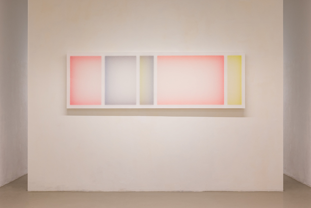 , 'Untitled (Composition with 3 Rectangles and 3 Colours),' 2017, Galerie Kandlhofer
