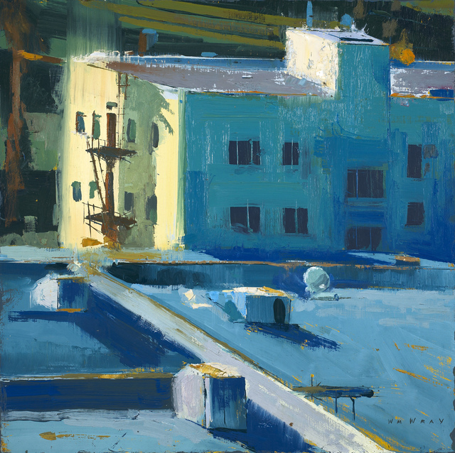 , 'Rooftops #2,' 2016, Sue Greenwood Fine Art