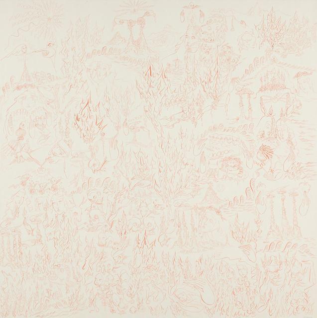 , 'Flame 4 s,' 2013, Tina Kim Gallery
