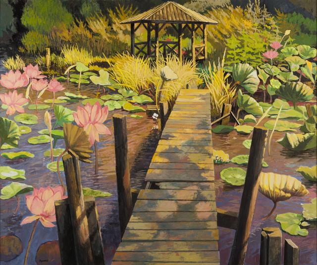, 'Lotus Garden,' , Childs Gallery