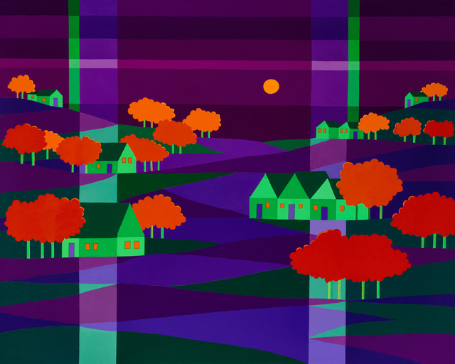 Michael Jernegan, 'Tangerine Trees', 2018, design art concepts