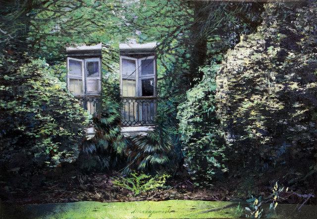 , 'La finestra di Ida,' 2018, Pontone Gallery