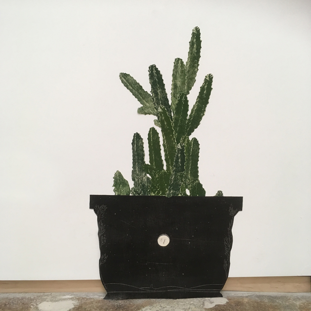 , 'Potted Cholla (2 of 2 sold as a pair),' 2017, Emerson Dorsch