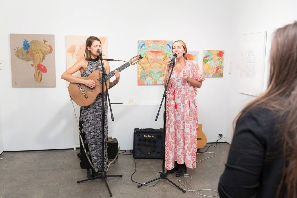 Closing Reception featuring live performance by Jacinta & Juana